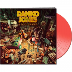 Danko Jones - A Rock Supreme - Neon Orange Vinyl