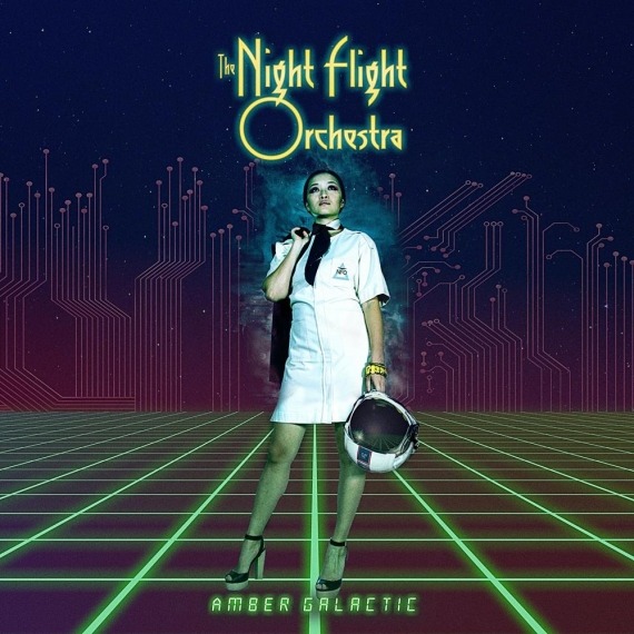 The Night Flight Orchestra - Amber Galactic -
