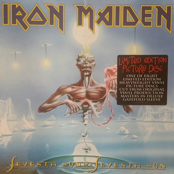 Iron Maiden - Seventh Son Of A Seventh Son - Picture Disc - Gatefold Edition