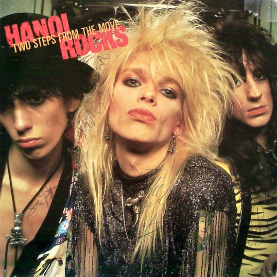 Hanoi Rocks - Two Steps From The Move - Rock Candy Remasters