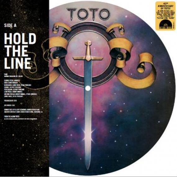 Toto - Hold The Line - Picture Disc - 40th Anniversary Edition