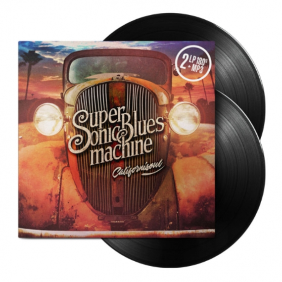 Supersonic Blues Machine - Californisoul - MP3 Voucher included