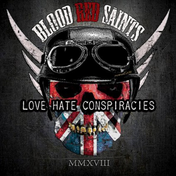 Blood Red Saints - Love Hate Conspiracies -