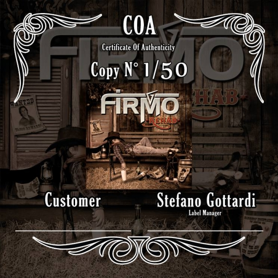 Firmo - Rehab - Limited Personalized Edition