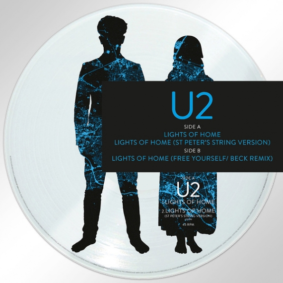 U2 - Lights of Home - Record Store Day 2018 - Picture Disc - Only 5000 units worldwide