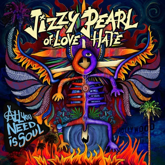 Jizzy Pearl of Love/Hate - All You Need is Soul -