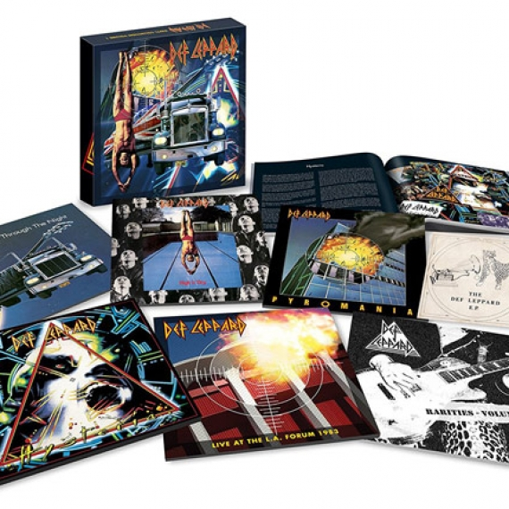Def Leppard - The Vinyl Collection Box Set: Volume One - 7 Vinly Collection