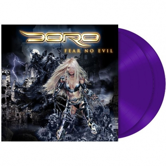 Doro - Fear No Evil - 2018 Reissue of the 25th anniversary edition - With Special Guests & Bonus Tracks - Limited Edition
