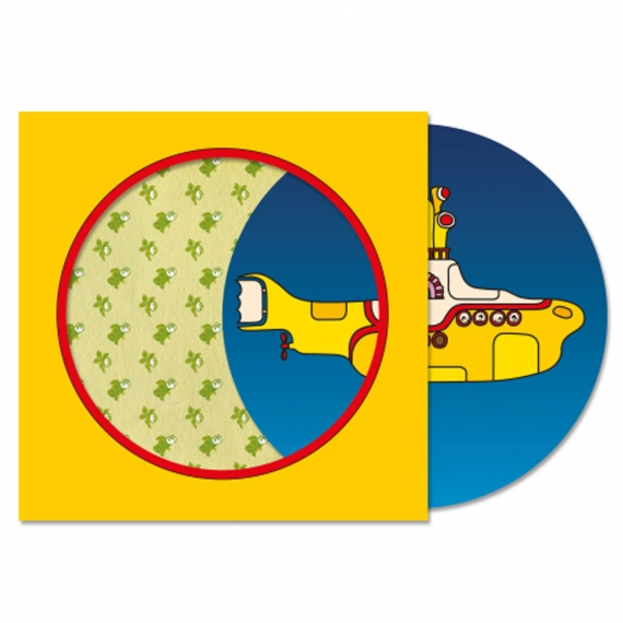 Rock Temple The Beatles Yellow Submarine Picture Disc
