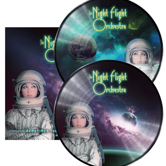 The Night Flight Orchestra - Sometimes The World Ain't Enough - Picture Disc