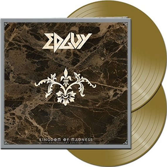 Edguy - Kingdom Of Madness - Gold Vinyl - Remastered Anniversary Edition