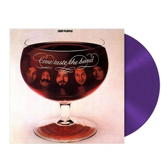 Deep Purple - Come Taste The Band - Purple Vinyl Limited Edition 2018