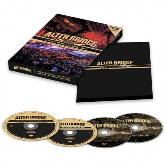 Alter Bridge - Live At The Royal Albert Hall Featuring The Parallax Orchestra  -