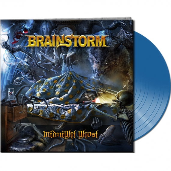 Brainstorm - Midnight Ghost - Limited Blue Vinyl Edition