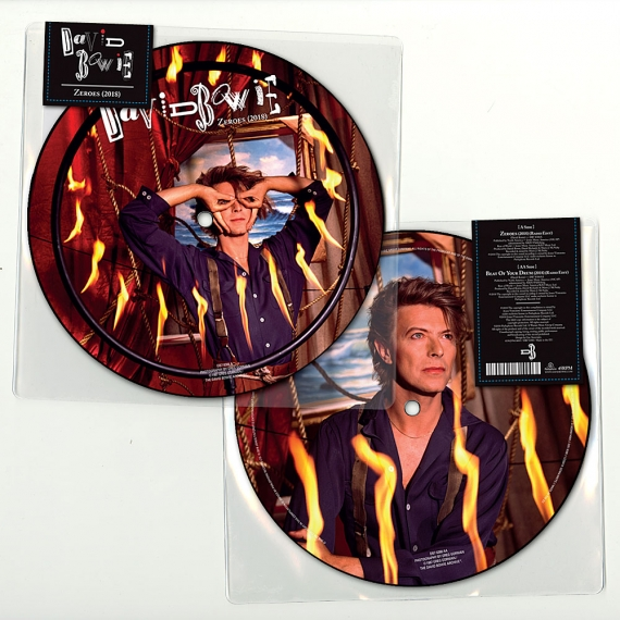 David Bowie - Zeroes - Limited Edition 7