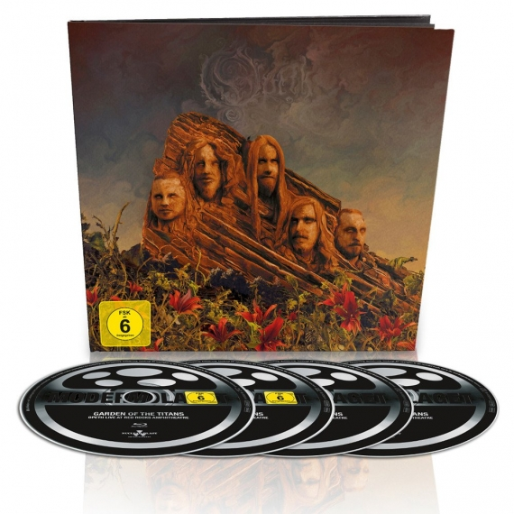 Opeth - Garden Of The Titans (Live) - Limited Edition