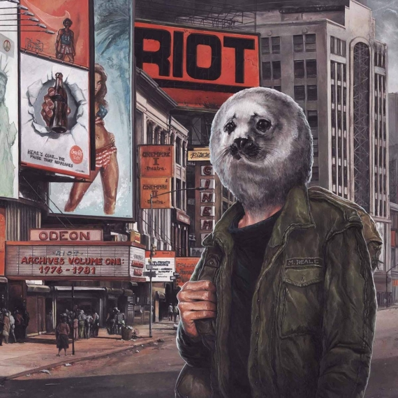 Riot - Archives 1976-1981 Volume 1 - Includes a Bonus DVD