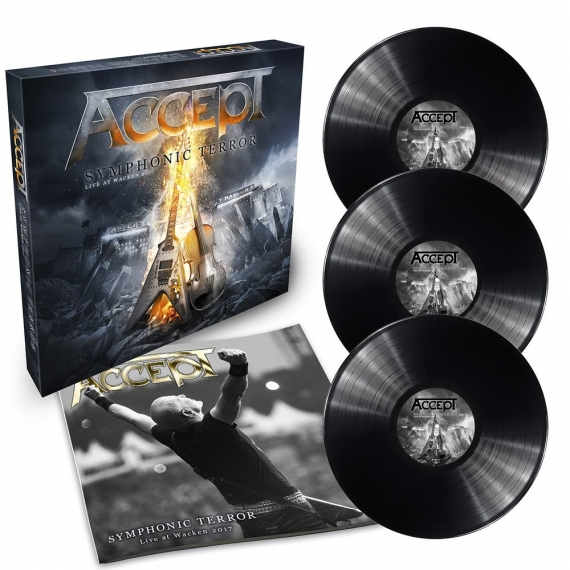 Accept - Symphonic Terror - Live At Wacken 2017 - Limited Edition