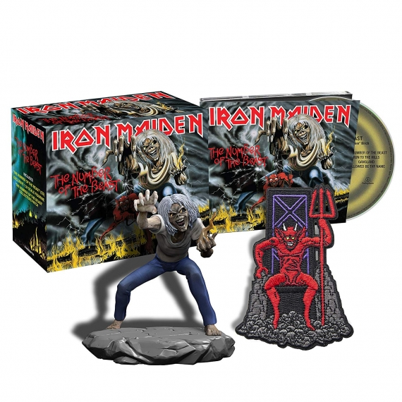 Iron Maiden - The Number Of The Beast - Collectors Box 2018 / Remastered
