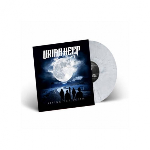 Uriah Heep - Living The Dream - Grey Marble Vinyl - Italian Exclusive - Limited to 150 Copies Worldwide