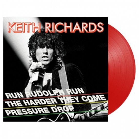 Keith Richards - Run Rudolph Run (Red Vinyl) - RECORD STORE DAY - BLACK FRIDAY 2018