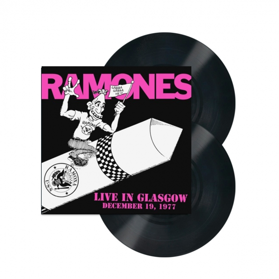 Ramones - Live In Glasgow December 19, 1977 - RECORD STORE DAY - BLACK FRIDAY 2018