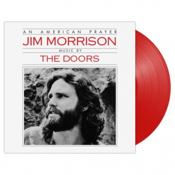 Jim Morrison & The Doors - An American Prayer (Red Vinyl) - RECORD STORE DAY - BLACK FRIDAY 2018