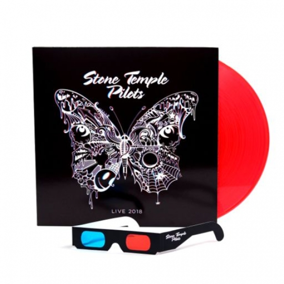 Stone Temple Pilots - Live 2018 (Bright Red Vinyl/3D Artwork) - RECORD STORE DAY - BLACK FRIDAY 2018