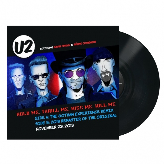U2 - Hold Me, Thrill Me, Kiss Me - RECORD STORE DAY - BLACK FRIDAY 2018