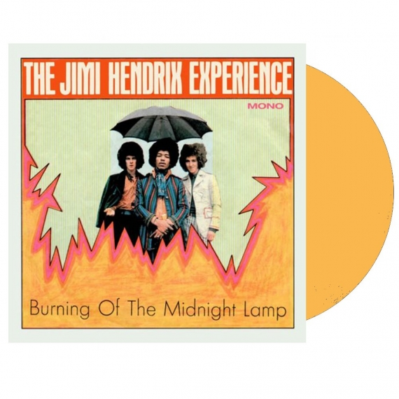 The Jimi Hendrix Experience - Burning Of The Midnight Lamp (Mono EP - Clear Orange Vinyl) - RECORD STORE DAY - BLACK FRIDAY 2018