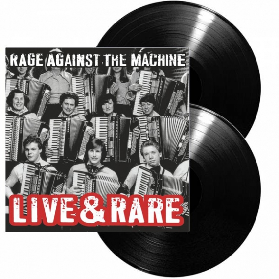 Rage Against The Machine - Live & Rare - RECORD STORE DAY- BLACK FRIDAY 2018