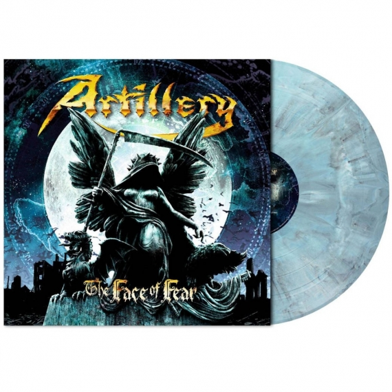 Artillery - The Face of Fear - Limited Grey Blue Marbled Edition - 300 Copies Only