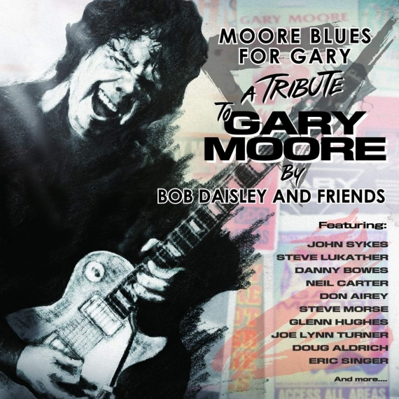 Various Artists - Moore Blues For Gary Moore by Bob Daisley & Friends -