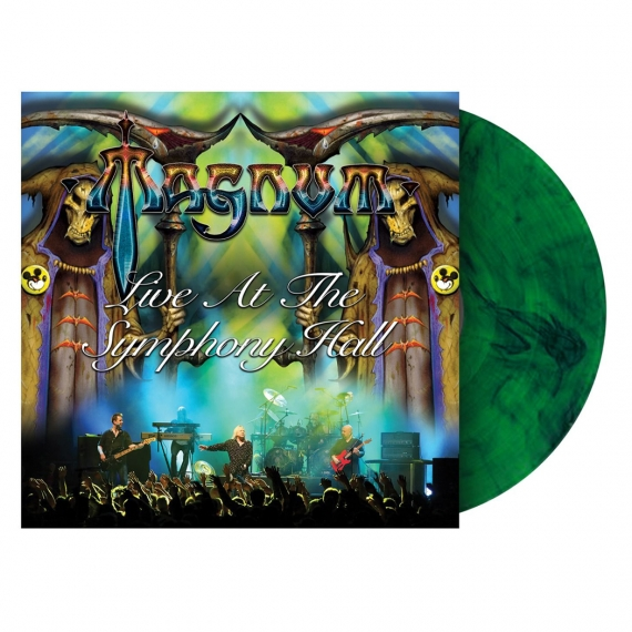 Magnum - Live At The Symphony Hall Birmingham - DELUXE  LIMITED EDITION - Coloured Vinyl