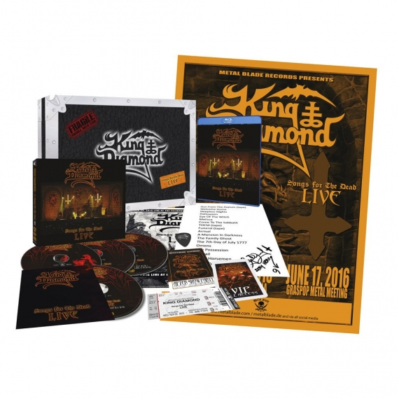 King Diamond - Songs For The Dead - Live - Deluxe Boxset Edition - LIMITED 3000 COPIES