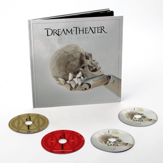 Dream Theater - Distance Over Time - Artbook Edition