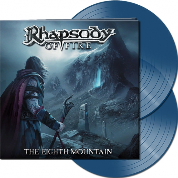 Rhapsody Of Fire - The Eighth Mountain - Clear Blue Vinyl - Limited To 275 Units