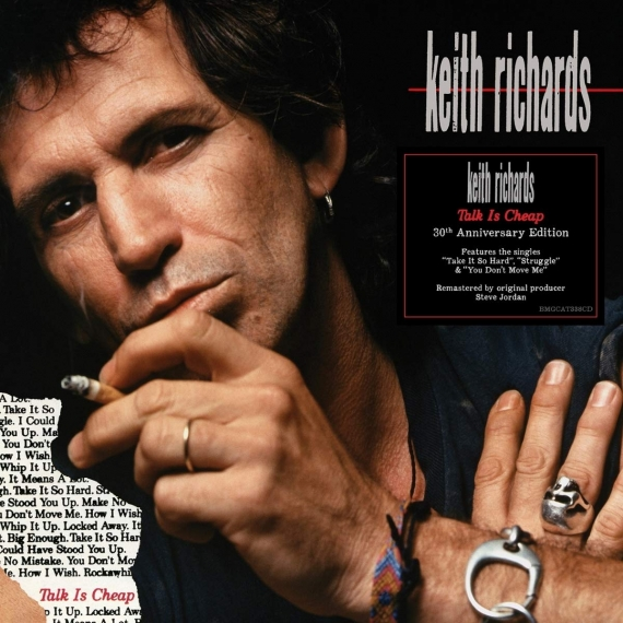 Keith Richards - Talk Is Cheap - 30th Anniversary Edition - Remastered by Steve Jordan
