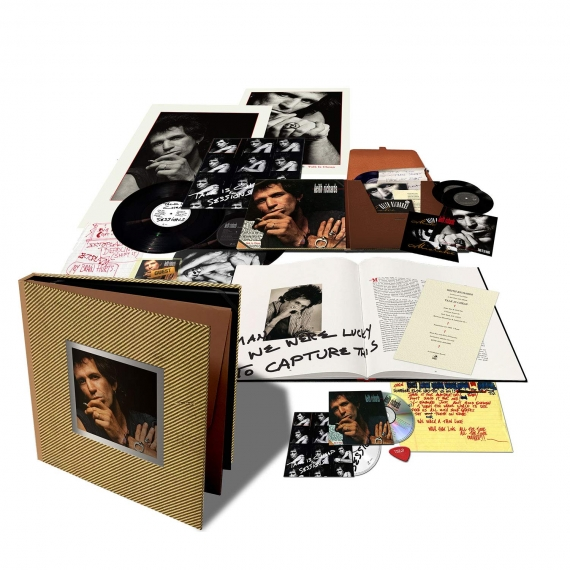 Keith Richards - Talk Is Cheap - 30th Anniversary Deluxe Box Set Edition - Remastered by Steve Jordan