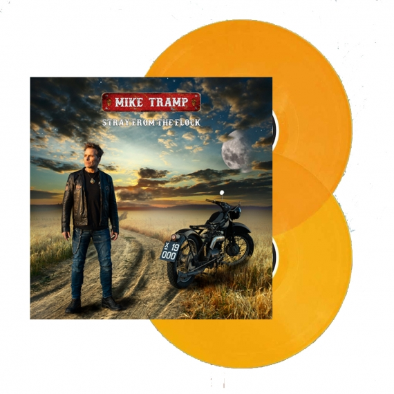 Mike Tramp - Stray From The Flock - 180gr. Orange Vinyl Gatefold (LTD. 500 copies)
