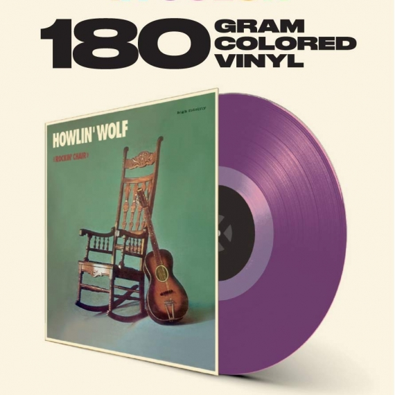 Howlin' Wolf - Rockin' Chair - Limited Transparent Purple Edition