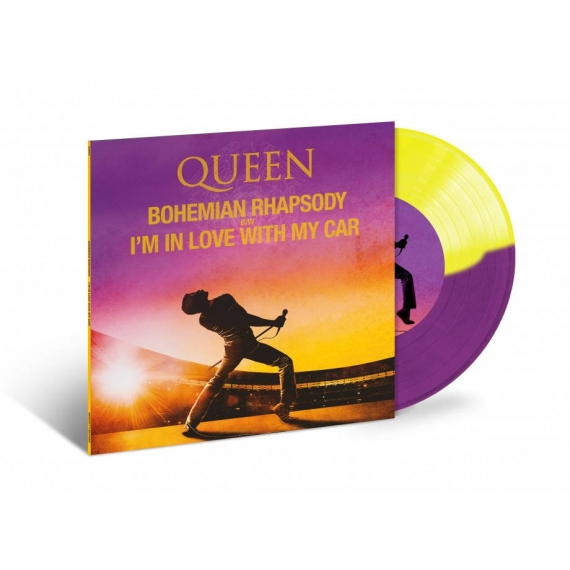 Queen - Bohemian Rhapsody + I'm In Love With My Car - Record Store Day 2019 - 2500 Copies Worldwide - Colored Single Edition