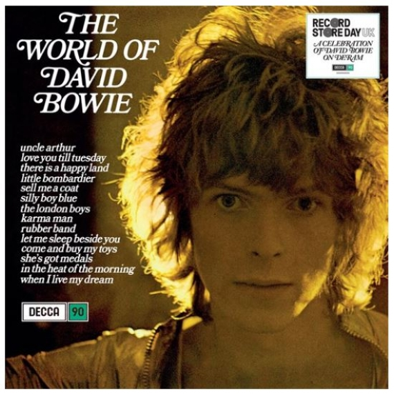 David Bowie - The World of David Bowie - Record Store Day 2019 - 3500 Copies Worldwide