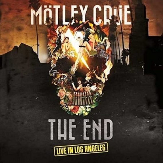 Motley Crue - The End - Live In Los Angeles - Deluxe Earbook Edition
