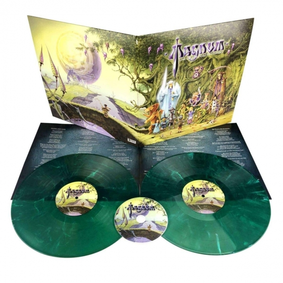 Magnum - Lost On The Road To Eternity - Green/White Marbled Vinyl - Limited Edition