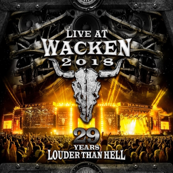 Various Artists - Live At Wacken 2018: 29 Years louder than hell -
