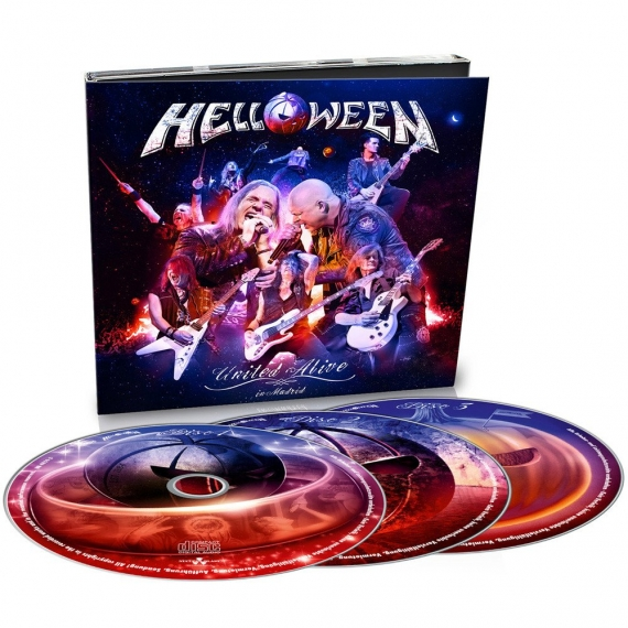 Helloween - United Alive (In Madrid) -