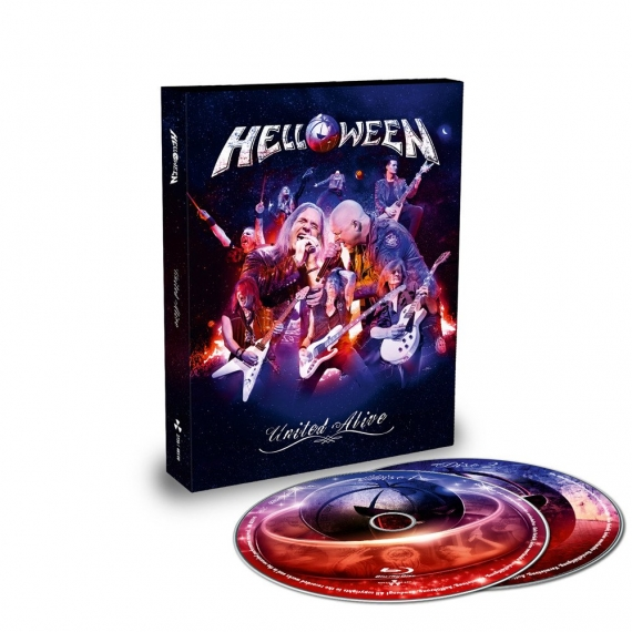 Helloween - United Alive (In Madrid) - Slipcase Edition