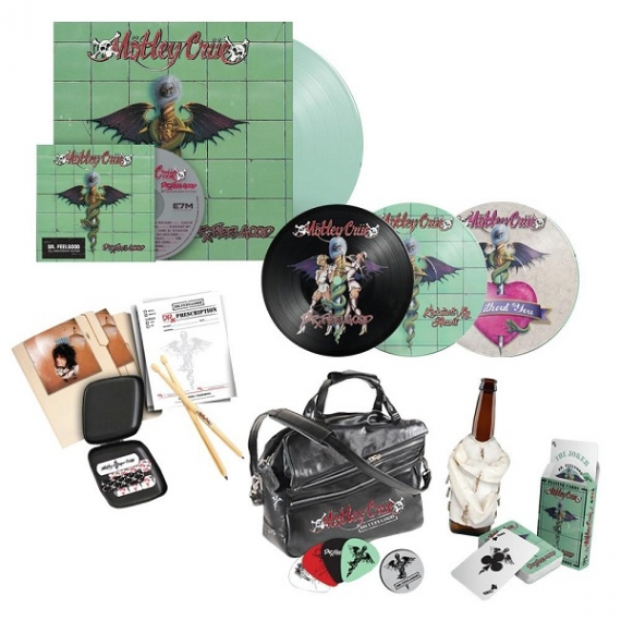 Motley Crue - Dr. Feelgood (30Th Anniversary) - Deluxe Boxset