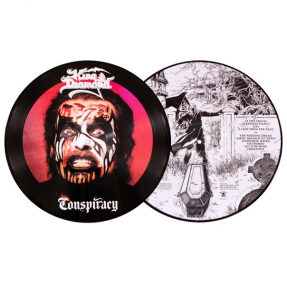 King Diamond - Conspiracy - Coloured Picture Disc Limited Edition